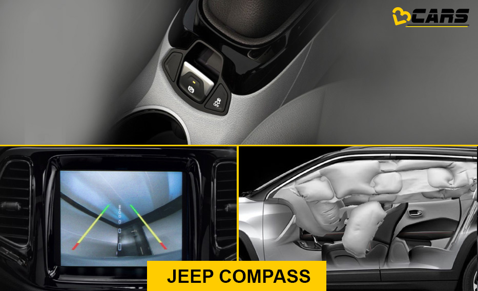 Jeep Compass Safety Equipment
