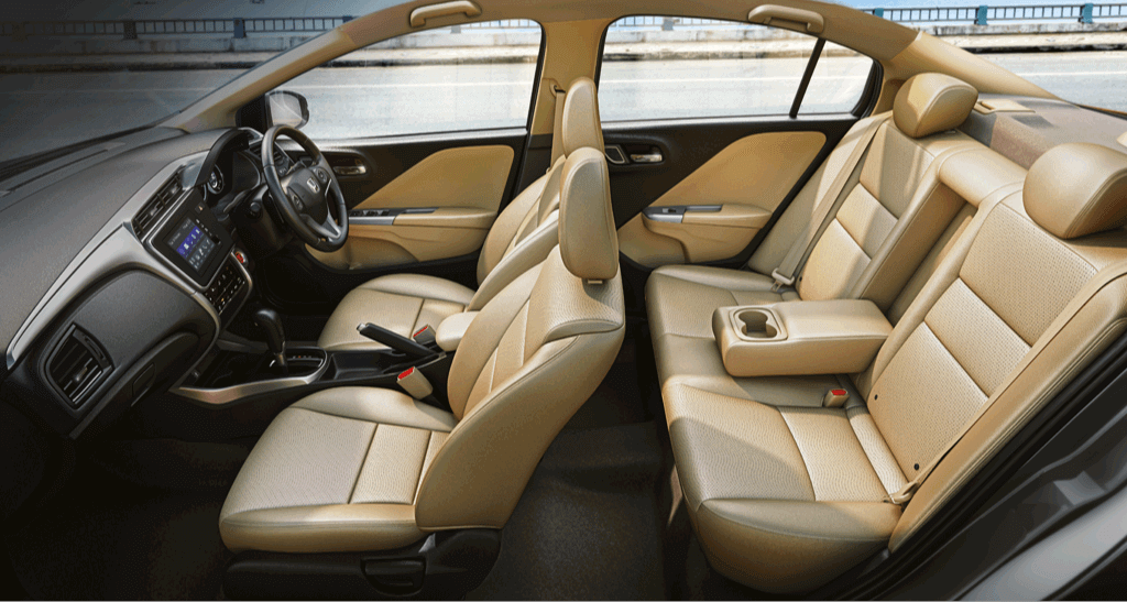 Honda City ZX MT Interior