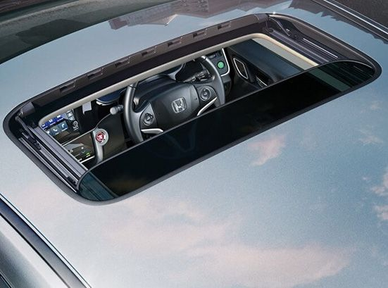 One touch electric sunroof