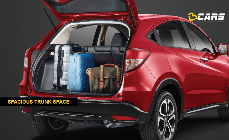 Honda HRV Boot Space
