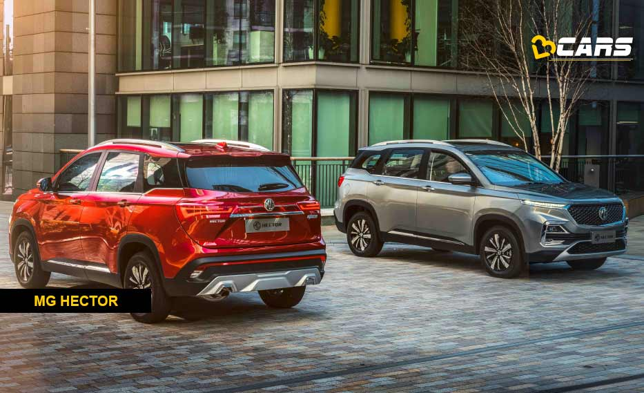 MG Hector Booking Start from June 2019