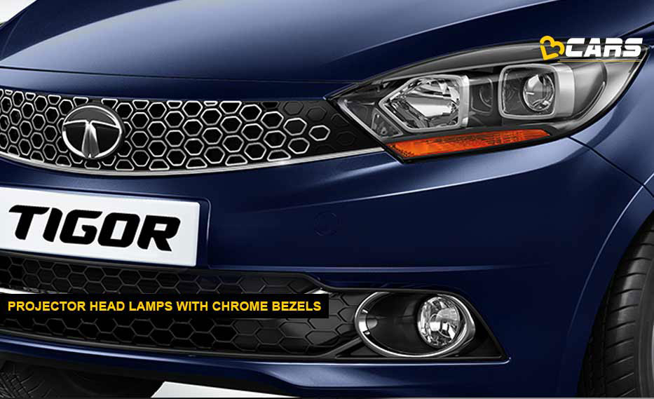 Tata Tigor AMT Projector Head Lamps