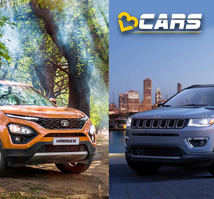 Tata Harrier vs Jeep Compass price comparison