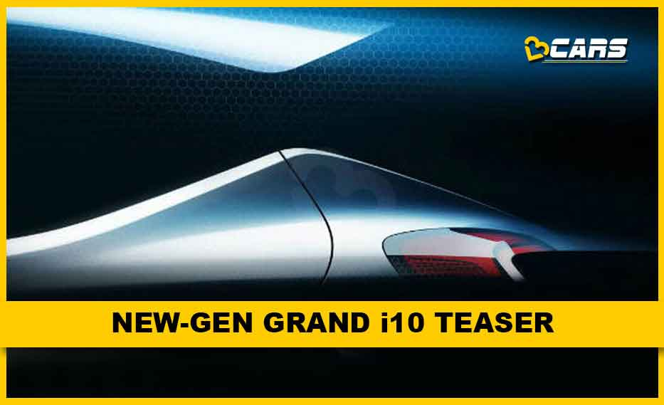 New-gen Grand i10 Teaser
