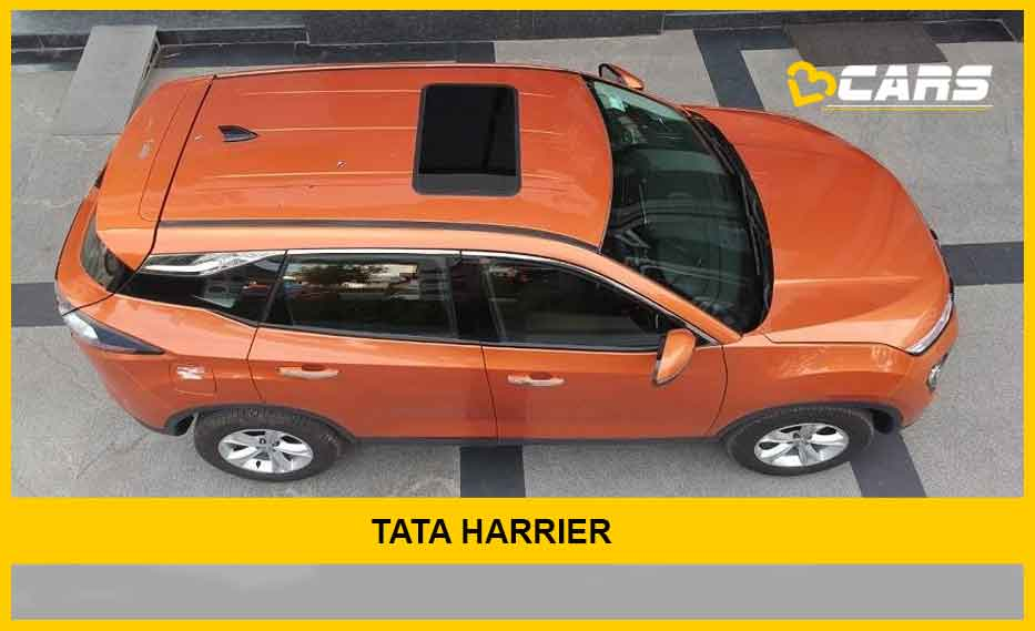 Tata Harrier With Sunroof