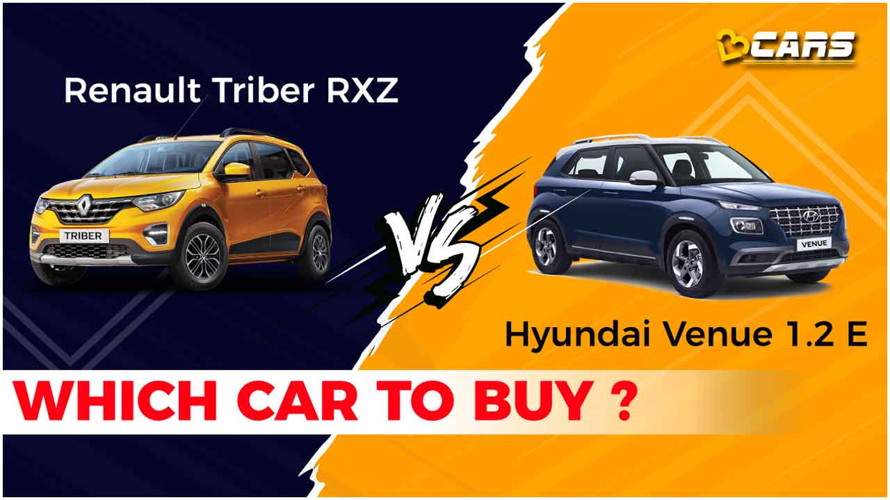 Renault Triber vs Hyundai Venue which car to buy