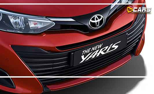 Toyota Yaris Grille