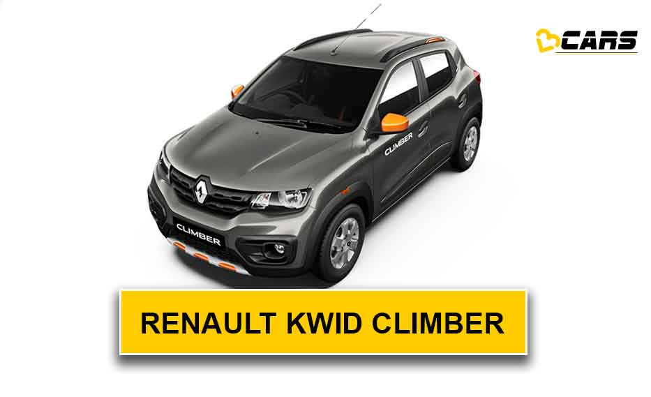 Renault Kwid Climber Facelift