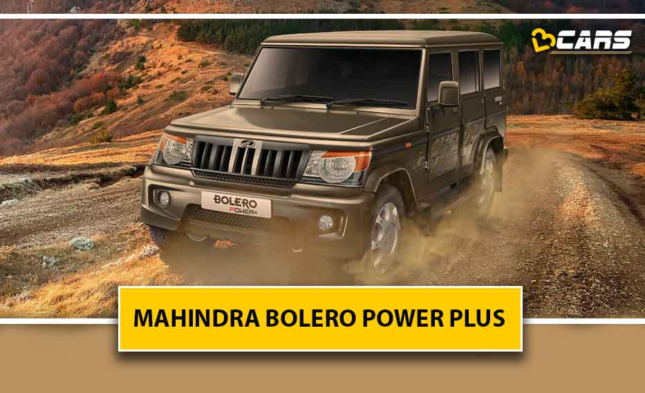 Mahindra Bolero Power Plus