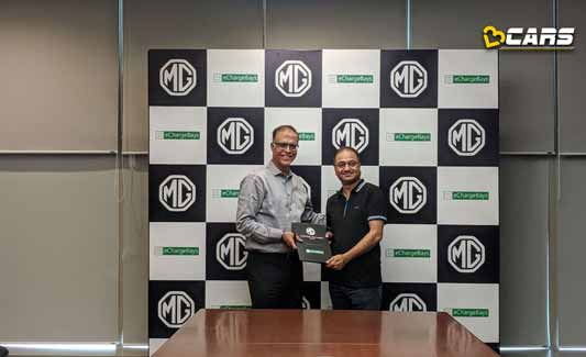 MG Motor India Joins Hands With eChargeBays