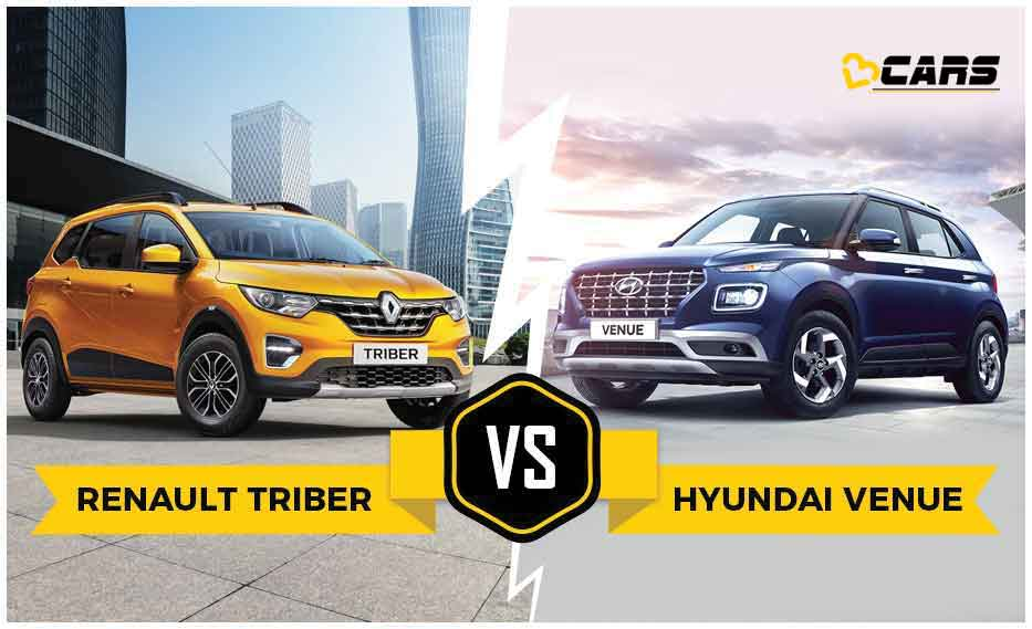 Renault Triber vs Hyundai Venue