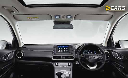 Hyundai Kona Electric SUV Interior
