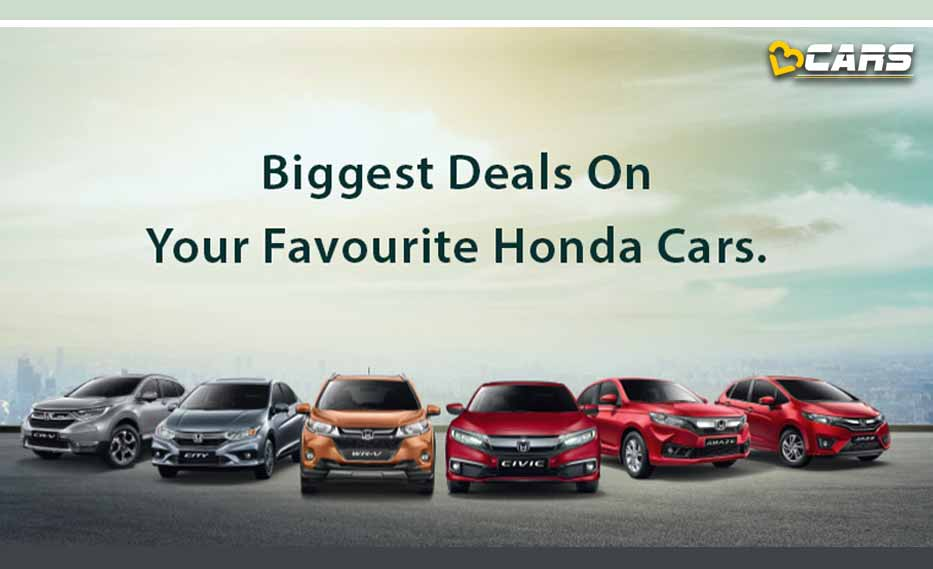 Honda Cars Available With Discounts