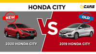 2020 Honda City - New vs Old (2019)
