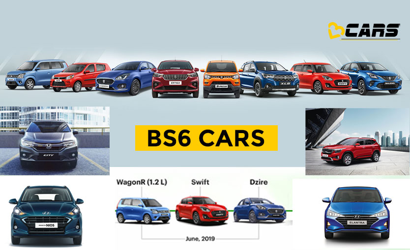 BS6 Cars In India