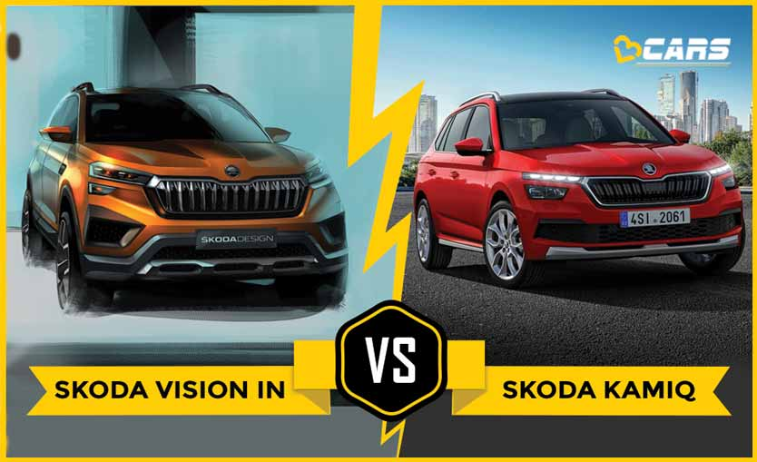 Skoda Vision IN vs Skoda Kamiq