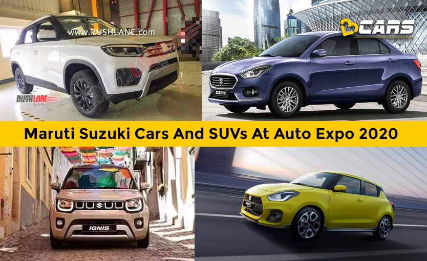 Maruti Suzuki Cars And SUVs