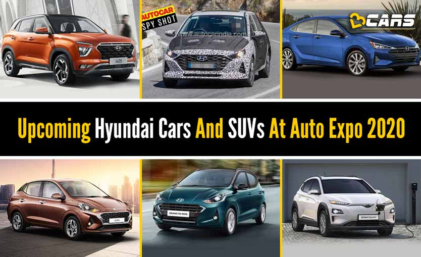 Upcoming Hyundai Cars And SUVs