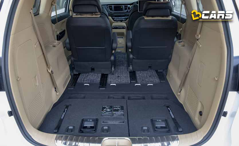 Kia Carnival Boot Space