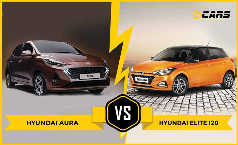 Hyundai Aura vs Elite i20