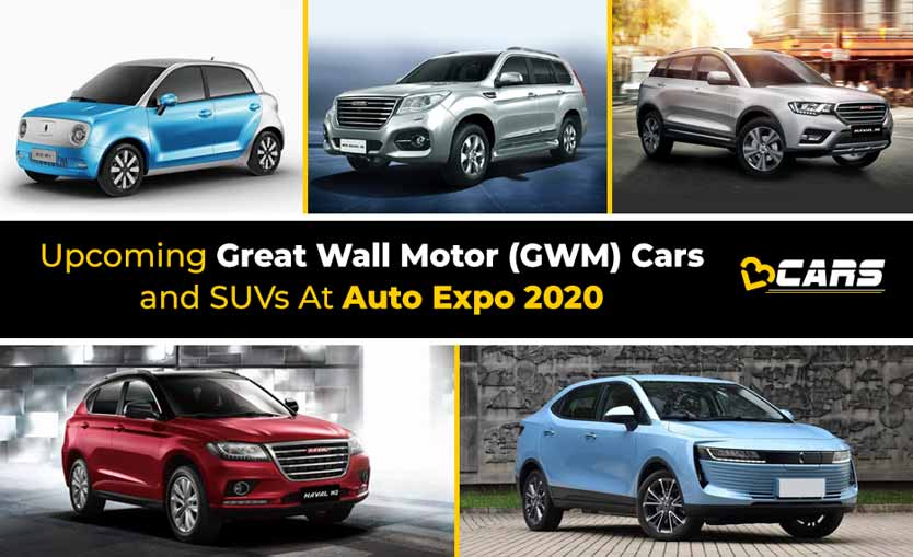 Upcoming Great Wall Motor (GWM) Cars And SUVs