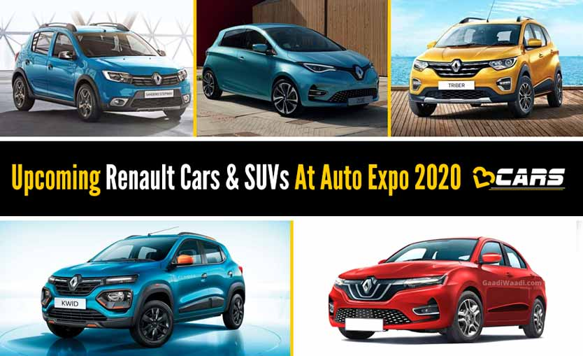 Upcoming Renault Cars And SUVs