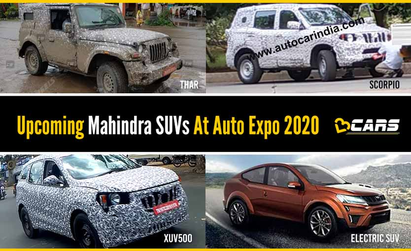 Upcoming Mahindra SUVs