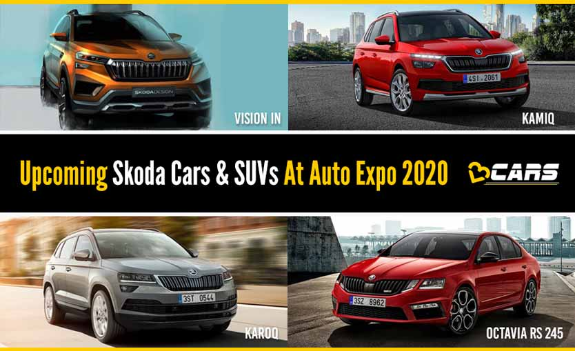 Upcoming Skoda Cars And SUVs