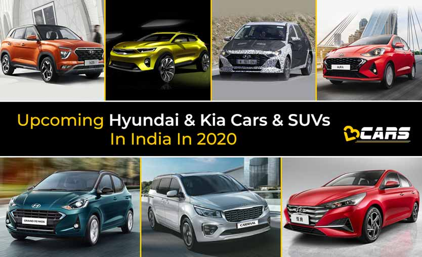 Upcoming Hyundai And Kia Cars And SUVs