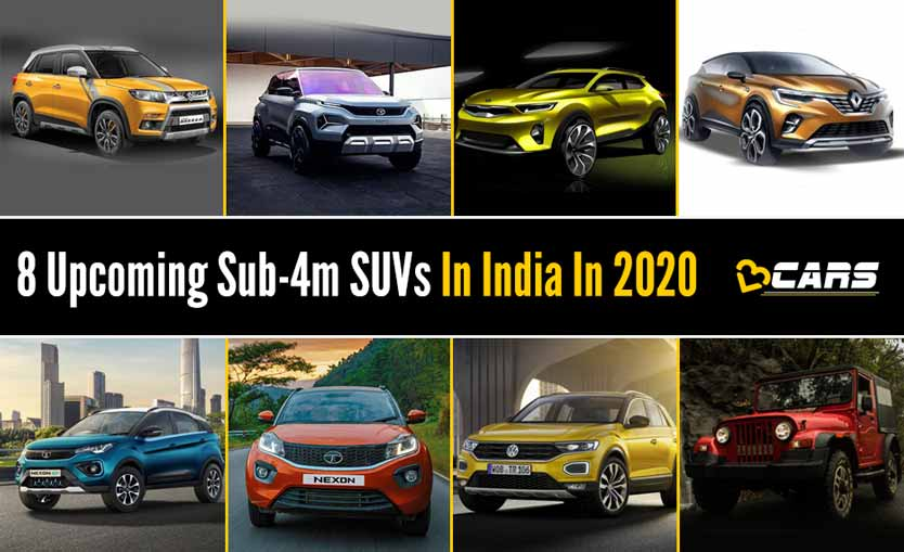 Upcoming Compact Suv 2020 List Of Upcoming New Sub 4m Suv Cars