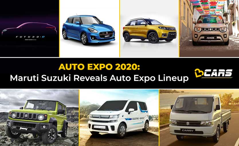 Maruti Suzuki Cars at Auto Expo 2020