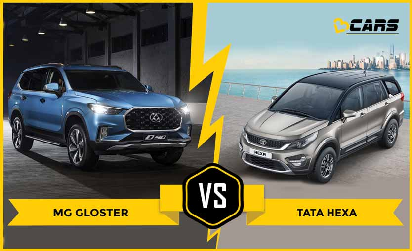 Mg Gloster vs Tata Hexa