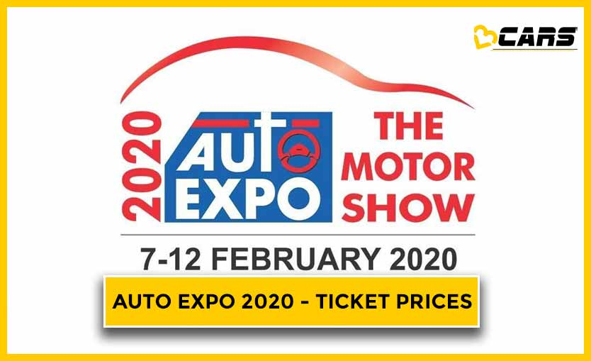Auto Expo 2020 - Ticket Prices