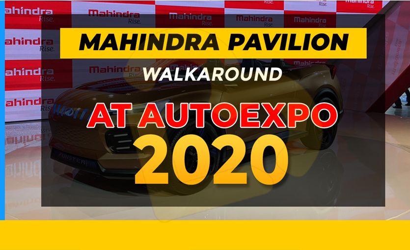 Mahindra Cars at Auto Expo 2020