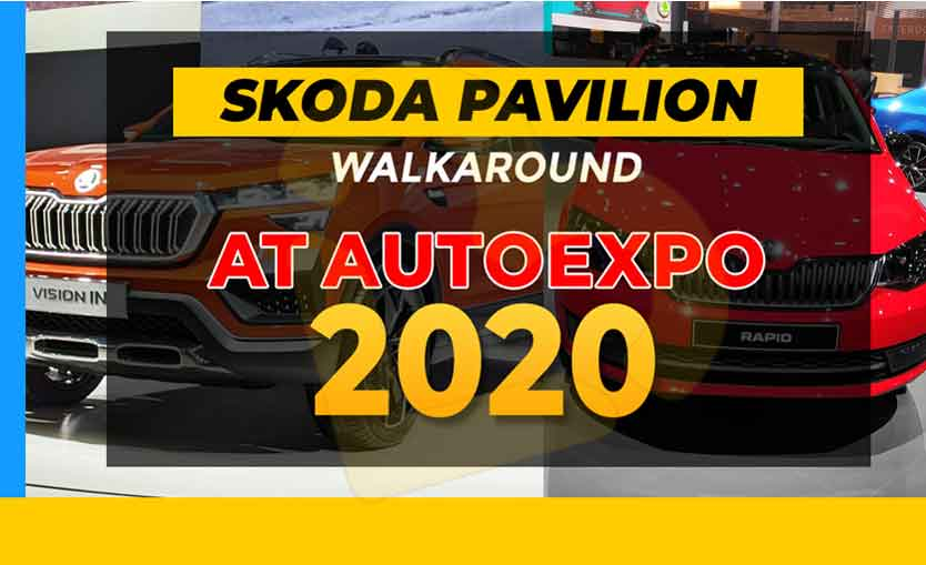 Skoda Cars at Auto Expo 2020
