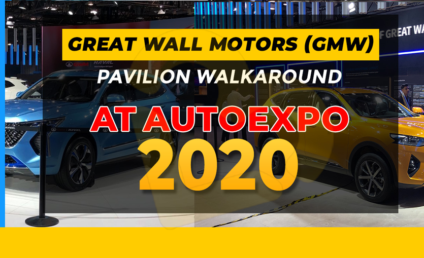 Great Wall Motor Cars at Auto Expo 2020