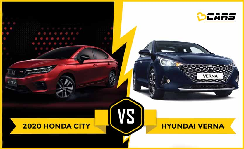 Honda City 2020 vs Hyundai Verna 2020