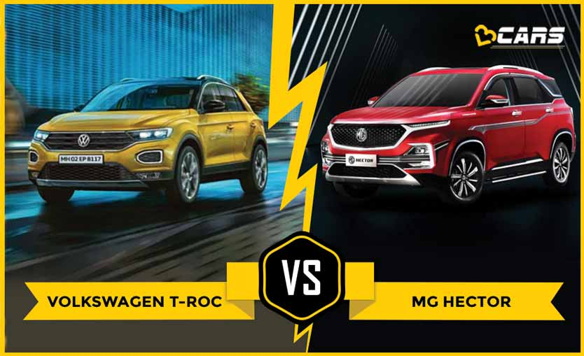 Volkswagen T-Roc 2020 vs MG Hector