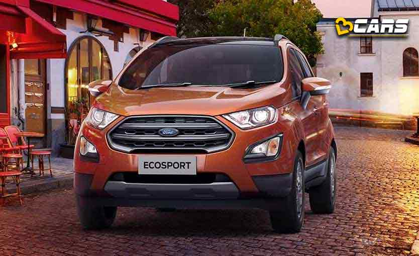 Ford EcoSport 2020 Specifications