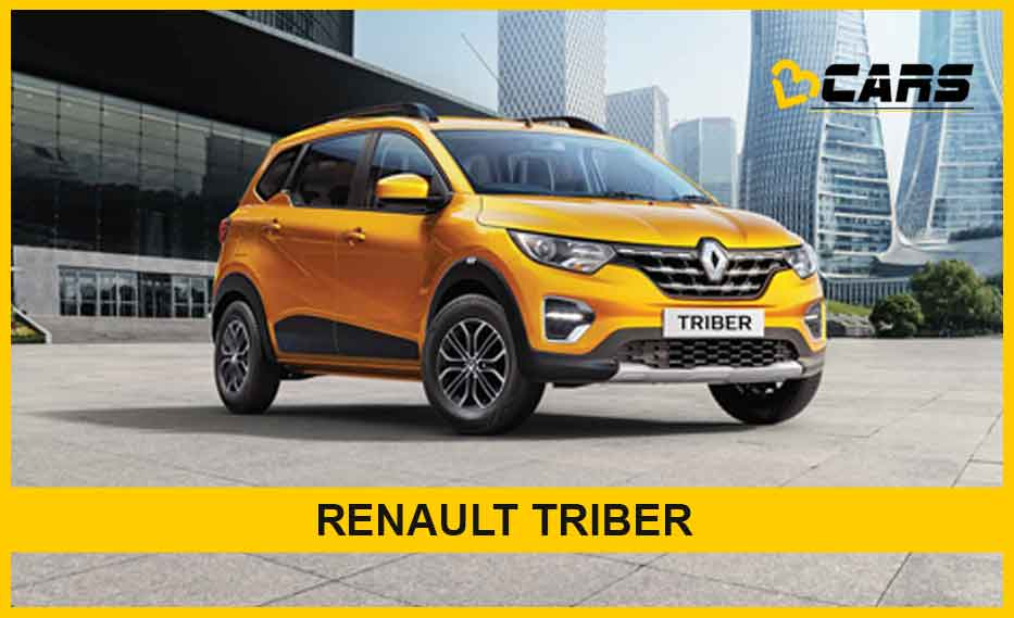 Renault Triber 2020 Specfications