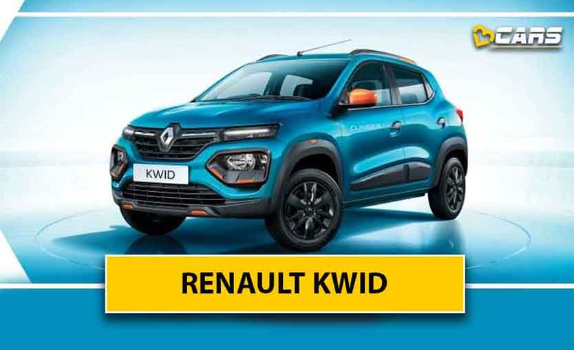 Renault Kwid 2020 Specifications