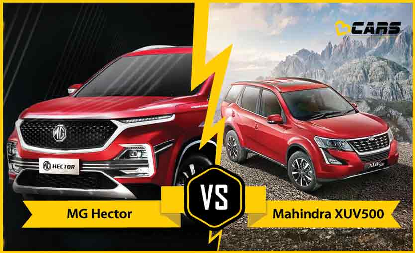Mg Hector 2020 vs Mahindra XUV500 2020