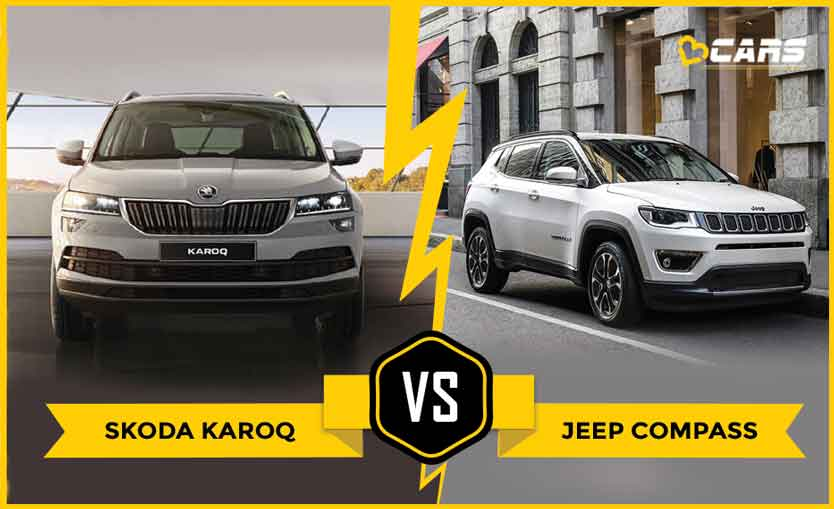 Skoda Karoq 2020 vs Jeep Compass