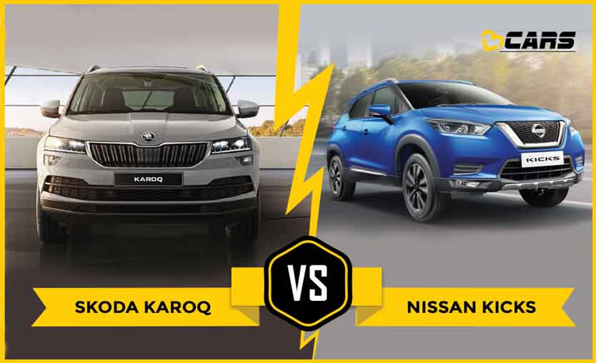 Skoda Karoq vs Nissan Kicks