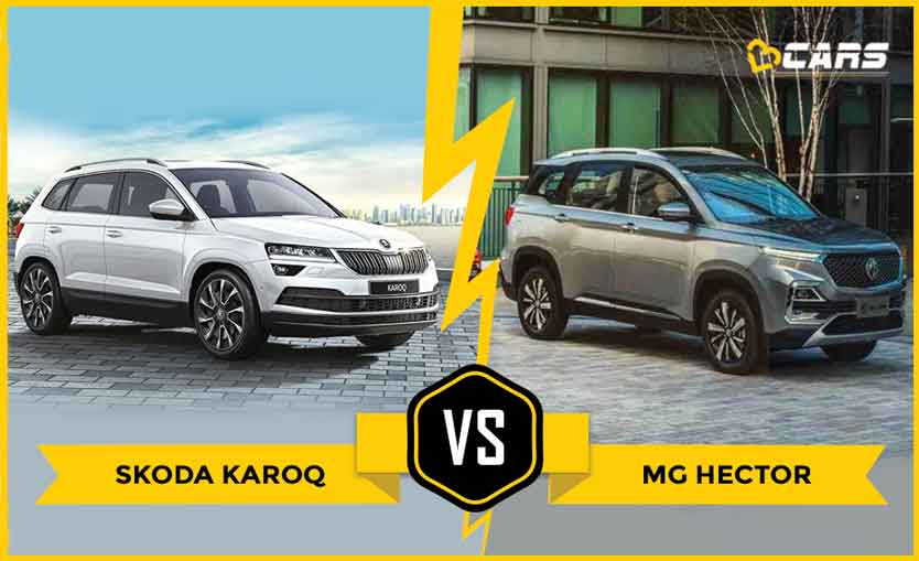 Skoda Karoq 2020 vs MG Hector