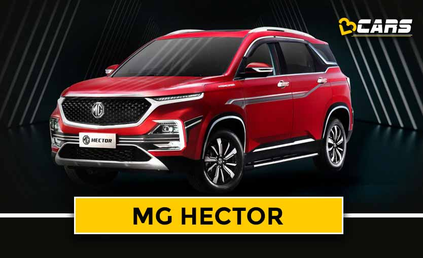 MG Hector 2020 Dimensions