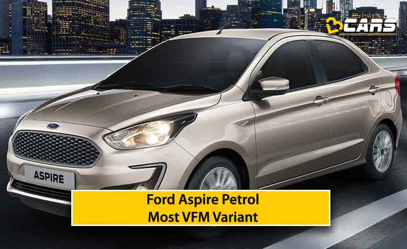 Ford Aspire 2020 Petrol value for money variant