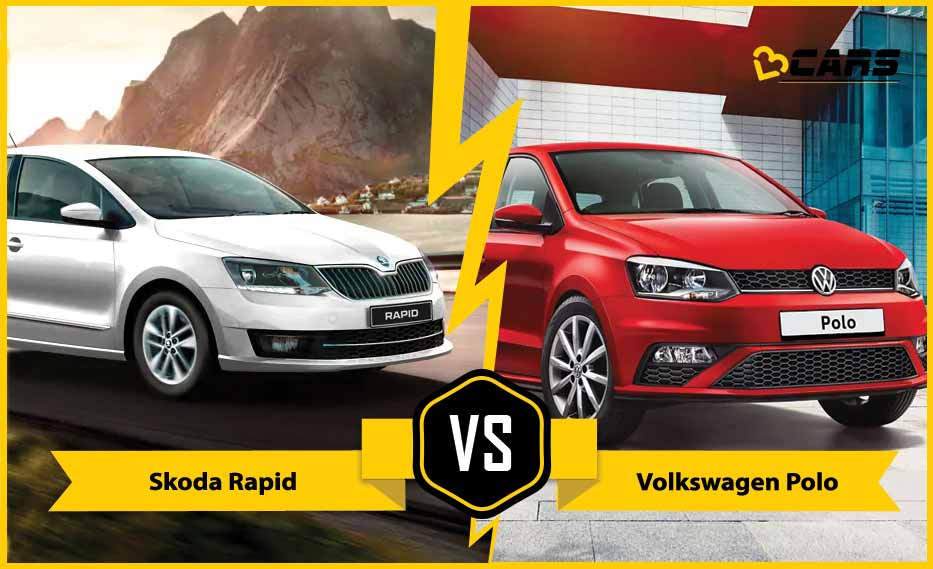 Skoda Rapid vs Volkswagen Polo