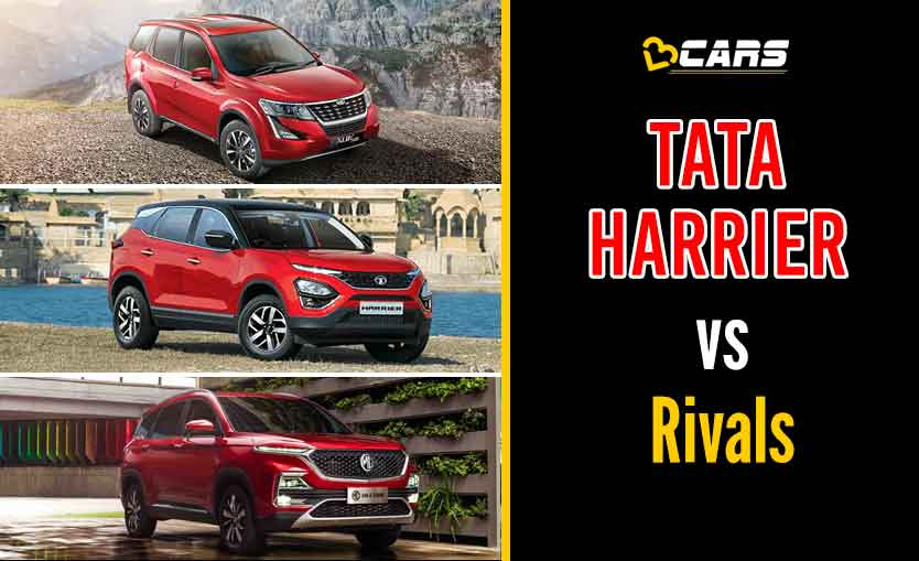 Tata Harrier 2020 Diesel vs Competition