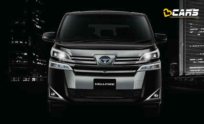 Toyota Vellfire Specifications